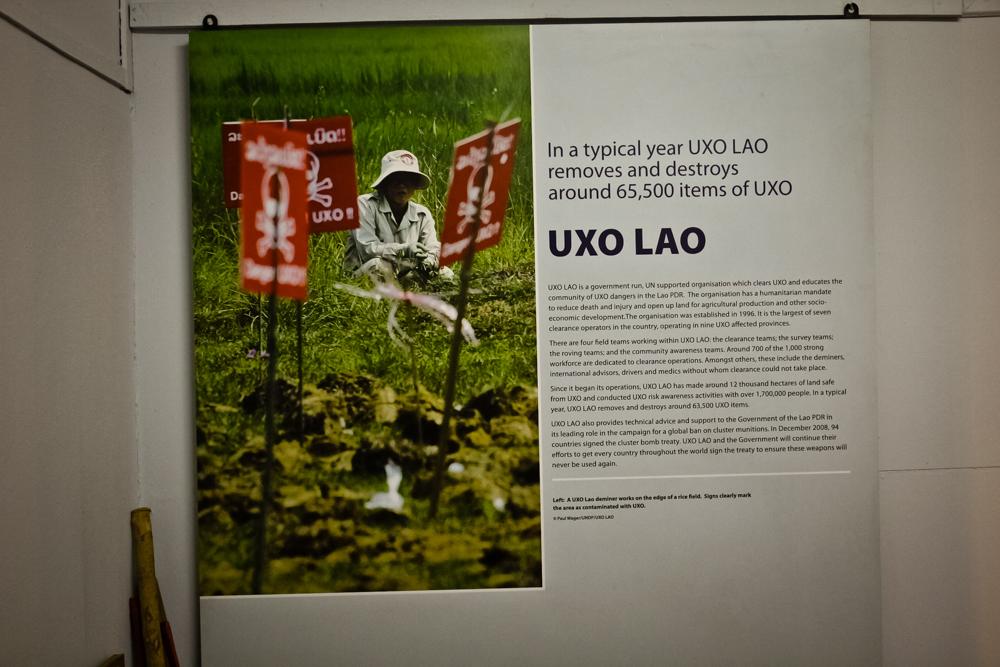 Картинки в Музее UXO.