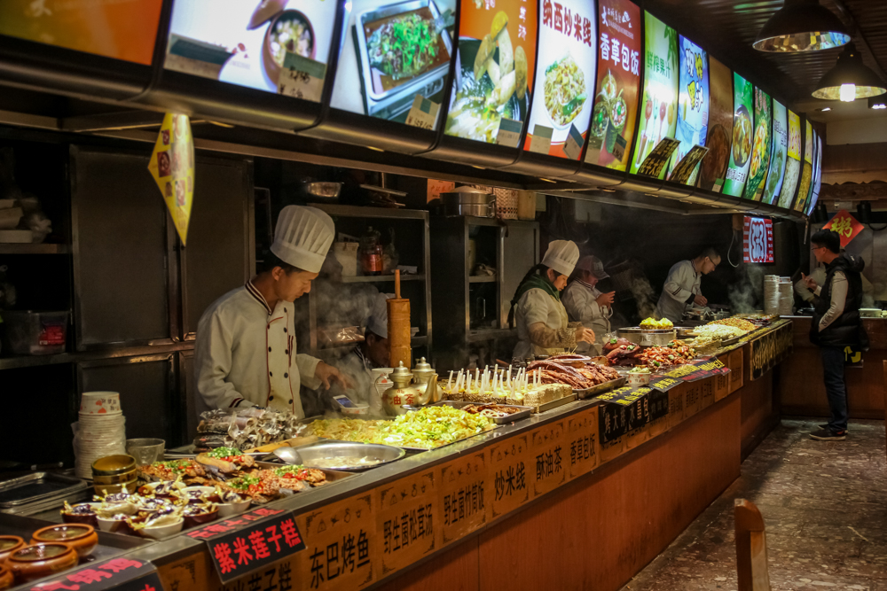 Еда в Лицзяне