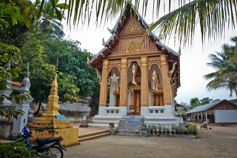 Храмовый комплекс на горе Пху Си