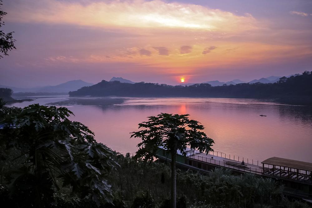 Вечерние картинки в Луанг Прабанге