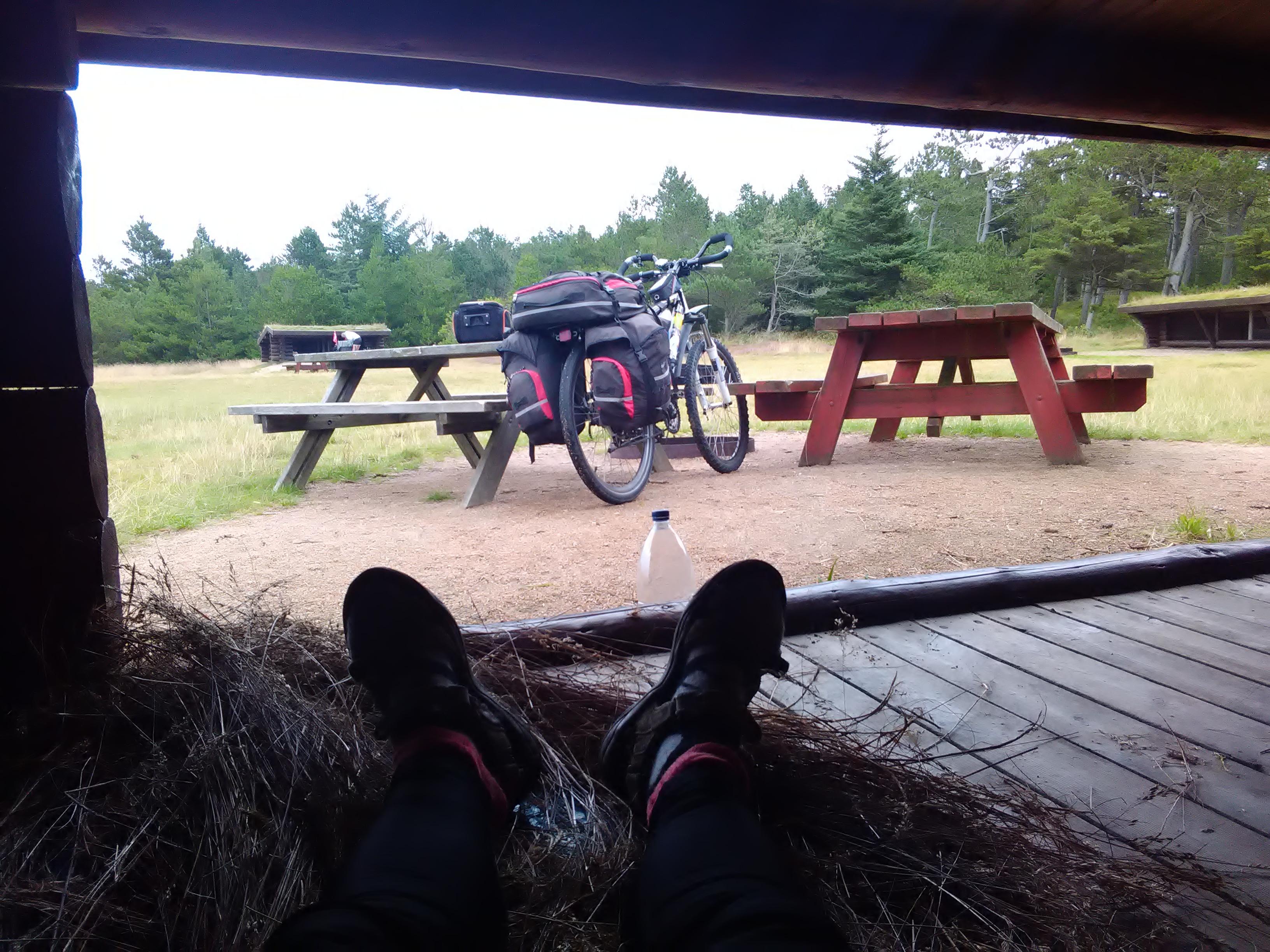 Shelter near Grenen