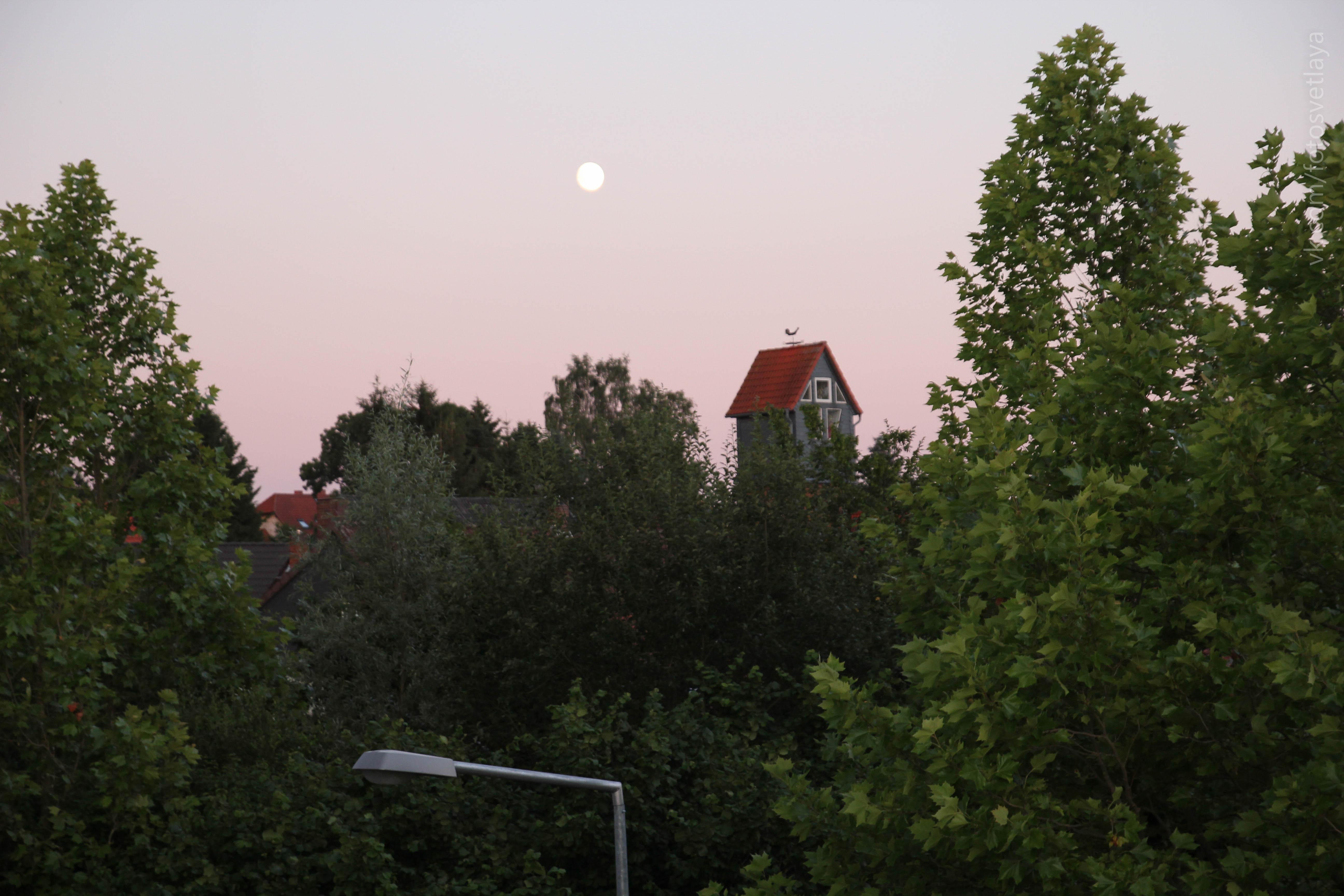 Вид с крыши котельной