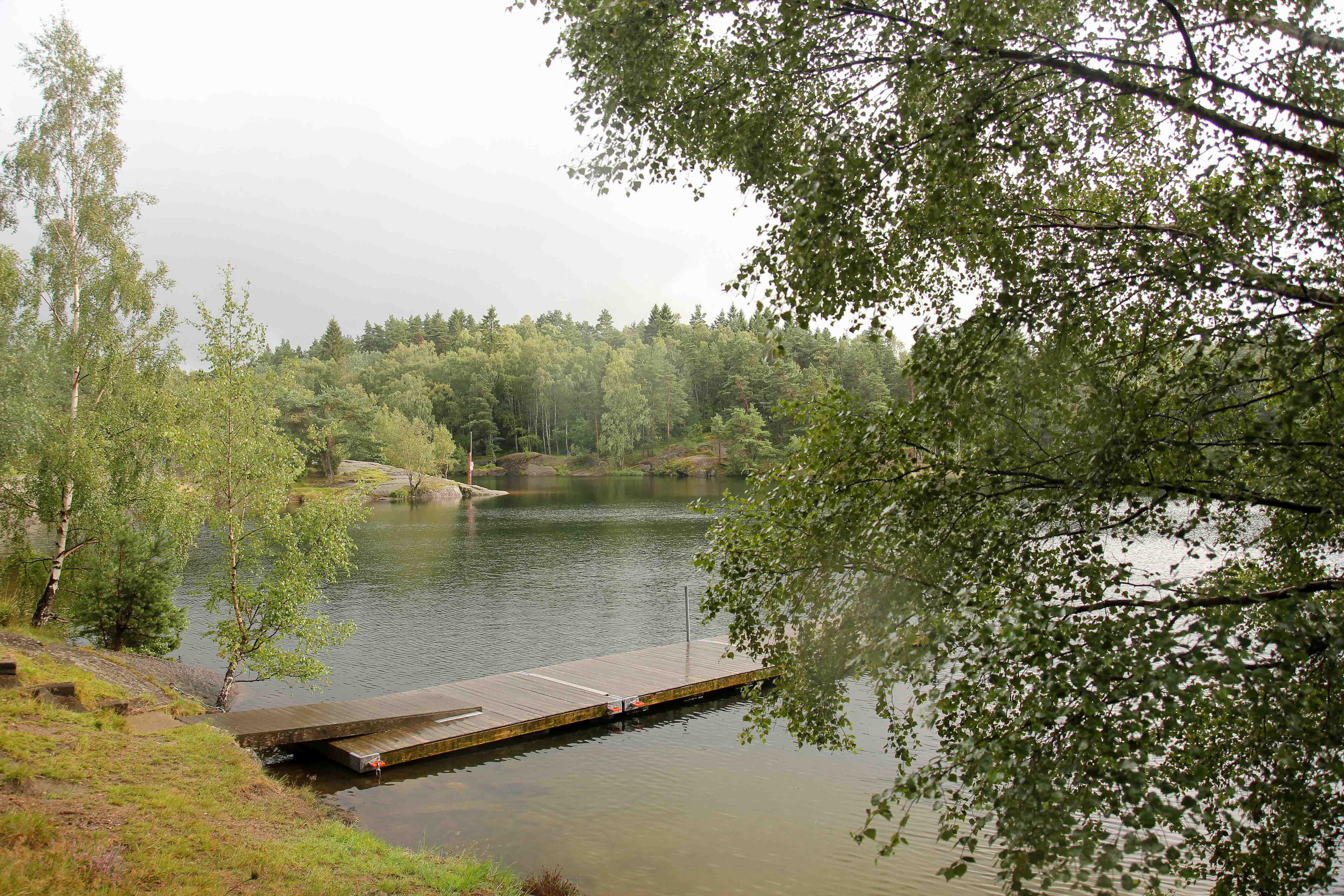 Озеро в Гетеборге