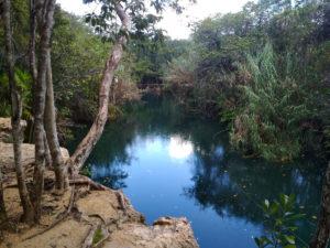 Escondido - сенот-река